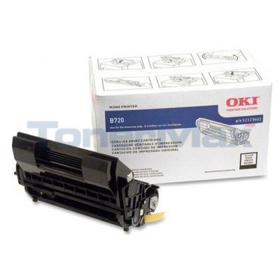 OKI B720 PRINT CARTRIDGE BLACK 20K